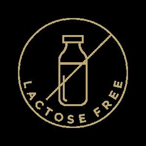 Be laktozės